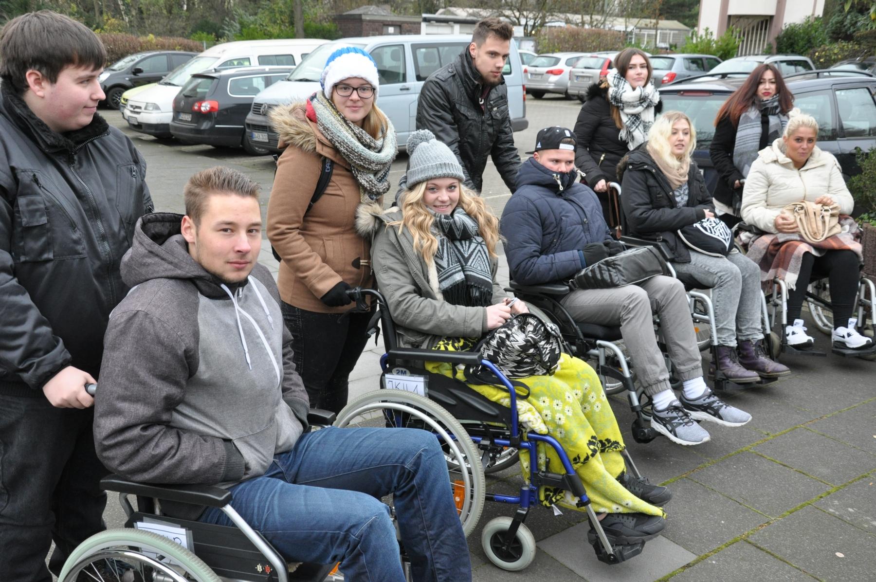 Rollstuhlexkursion