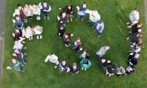 Ein Foto von Freiwilligen im FSJ